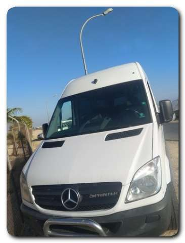 mercedes-benz sprinter blanco