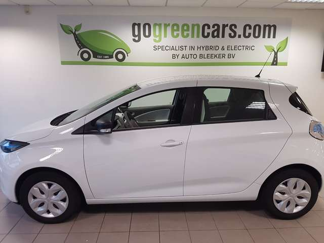 renault zoe entry-r75-41kw white