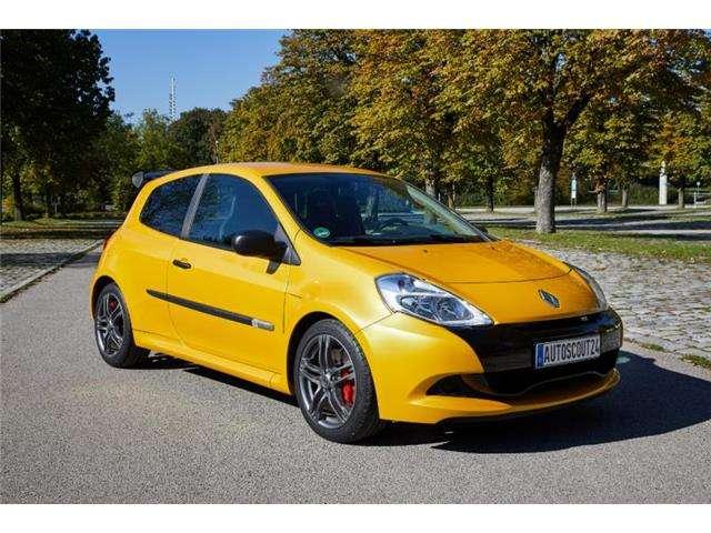 renault clio 2-0-16v-200-r-s-sport-auto-edition amarillo
