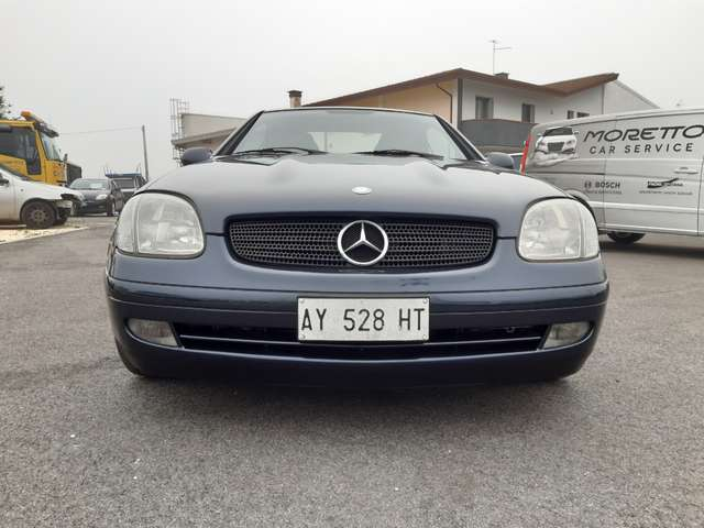mercedes-benz slk-200 cat-kompressor blu-azzurro