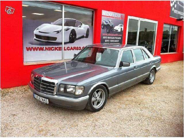 mercedes-benz 500 v8-limousine-etat-collection grau