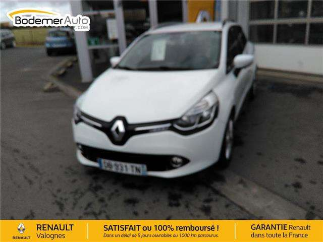renault clio iv-estate-tce-90-energy-eco2-intens white
