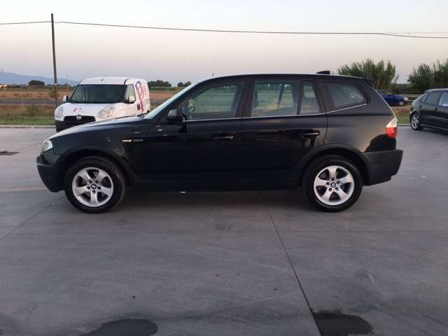 bmw x3 3-0d-cat-attiva nero