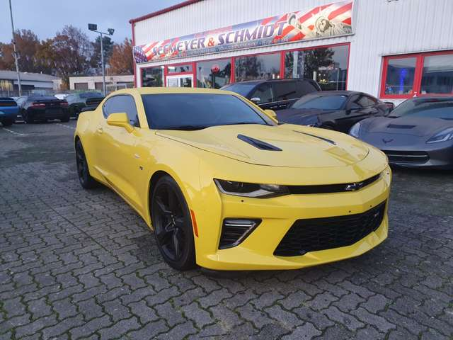 chevrolet camaro coupe-6-2l-v8-2ss-vollausstattung gelb