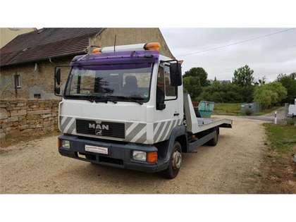 Trucks-Lkw MAN L 2000 Abschlepper