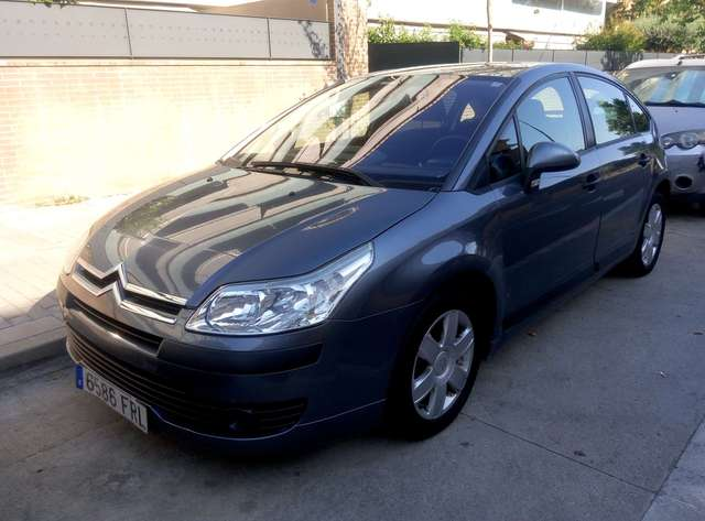 citroen c4 1-6hdi-collection-110 gris