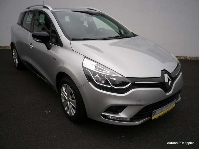 renault clio grandtour-energy-tce-90-limited-de-luxe-pdc silber
