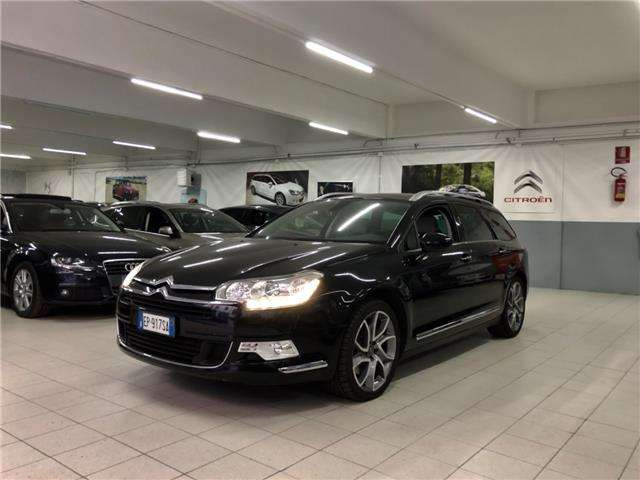 citroen c5 2-2-hdi-204-aut-hydractive-executive-tourer-km-cer schwarz
