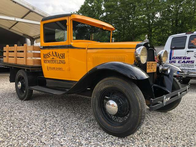 ford others model-a-pick-up gelb