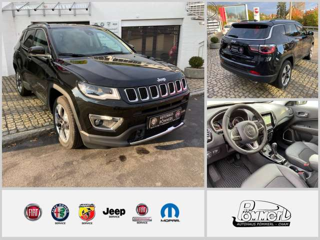 jeep compass limited-170-4x4-at9 schwarz