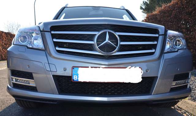 mercedes-benz glk-220 cdi-bluetec-4-matic-full-option-parfait-etat grijs