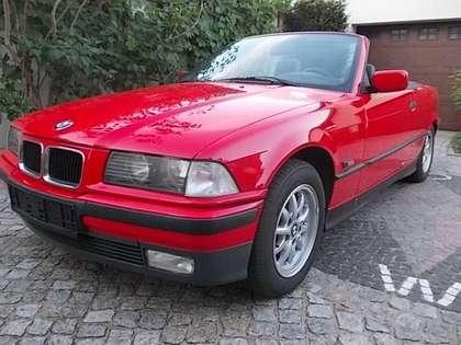 BMW 318 3er Rot