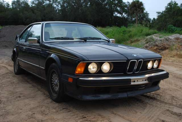 BMW 635 , EZ 04/1986