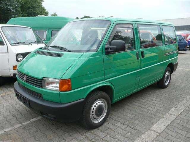 volkswagen t4-kombi t4-kombi-1-hand-klima-doppel-schiebetuere gruen