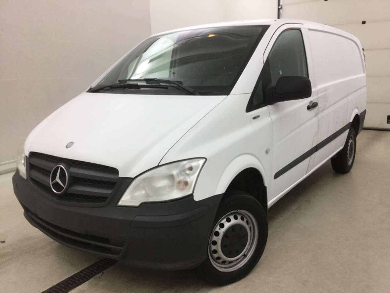 Mercedes-Benz Vito 113 CDI lang Kasten 4x4 Getriebe macht Geräusch