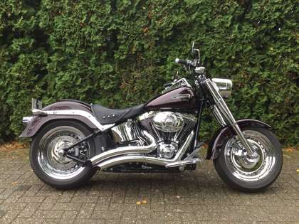 Harley-Davidson Fat Boy FLSTF 96 CI / 1600 CC , Custom Paint Flake, 1e eig