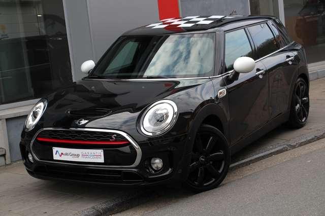 mini cooper-s-clubman 2-0-kit-jcw-garantie-1an-ful-gps-led-parking-aut noir
