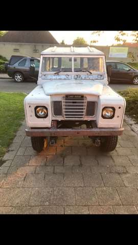 land-rover series 109-pick-up weiss