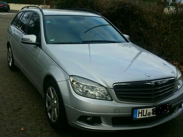 mercedes-benz c-200 t-cdi-dpf-blueefficiency silber