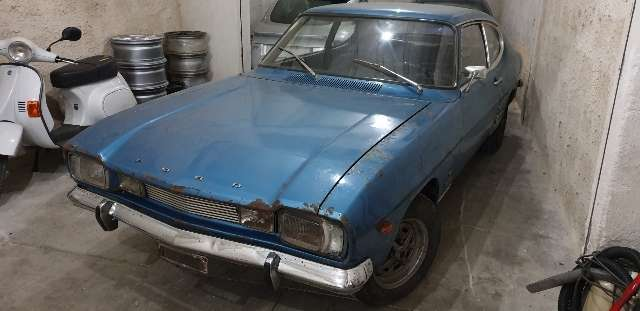 ford capri 1300xl blau