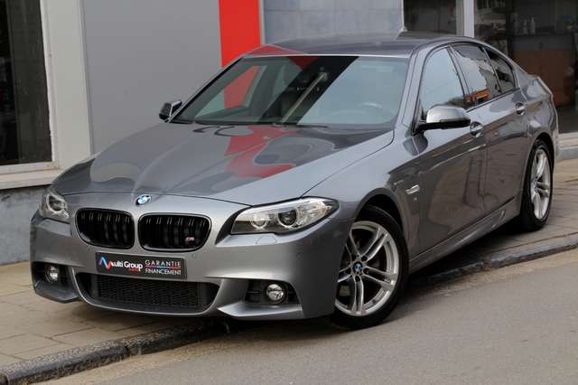 bmw 518 das-garantie-1an-pack-m-bt-aut-full-xenon-ja18-p gris