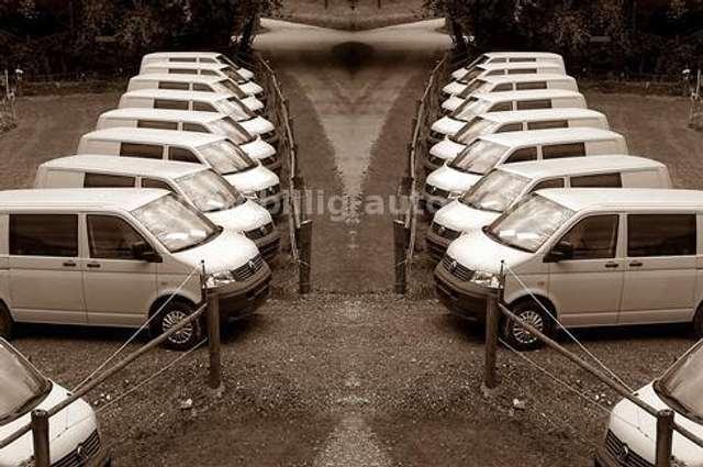 volkswagen t5 2x-schiebetuere-1-hand-scheckheft geel