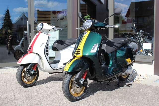 vespa gts-300 super-racing-sixties-abs-asr-sofort gruen