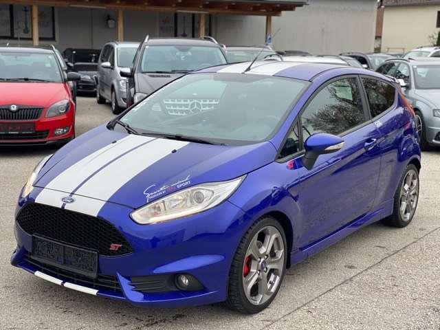 ford fiesta st-1-6-ecoboost-recaro-sportsitze-1-besitz-led bleu