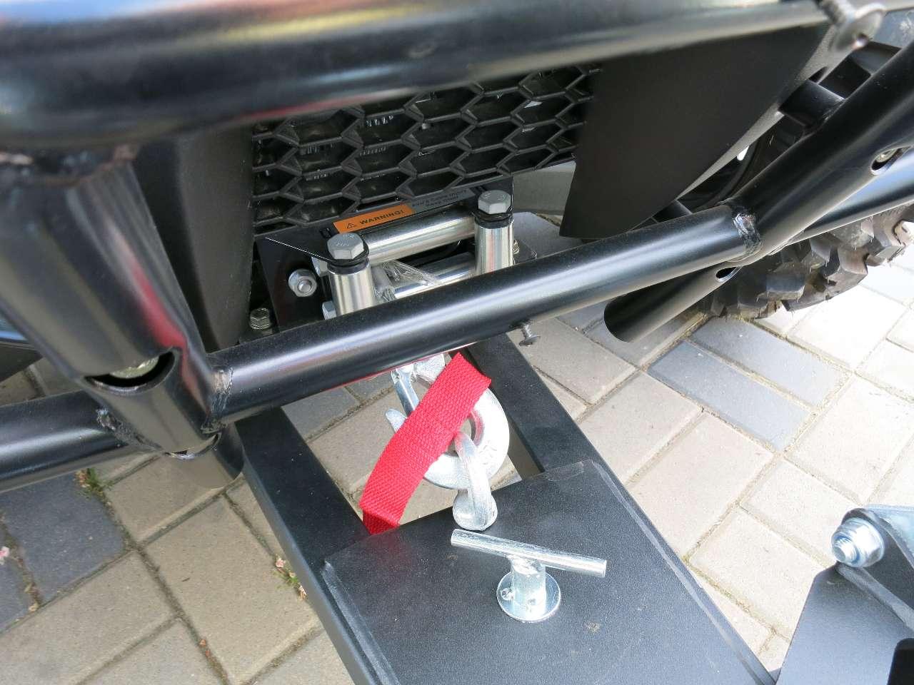 4x4 Allrad Differentialsperre Seilwinde Schiebesch