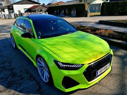 Audi RS6 TOP AUSSTATTUNG 1 BESITZ NEUWERTIG