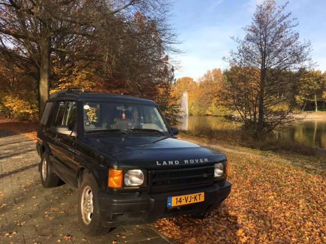 land-rover discovery 2-5-td5-lucht-vering groen