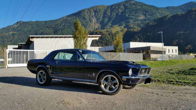 ford mustang coupe-gt blau