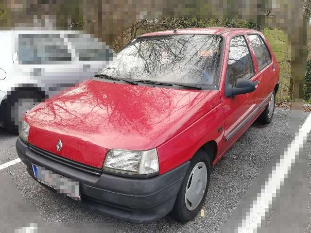 renault clio rn-1-2 red