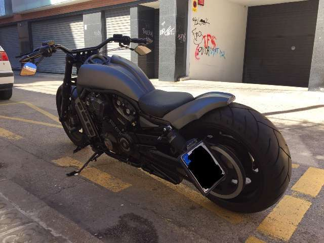 harley-davidson vrsc-night-rod gris
