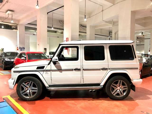 mercedes-benz g-500 kit-63-amg-km-97-000-disponibile-in-sede bianco