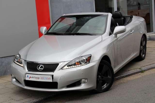 lexus is-250 c-cabriolet-garantie-1an-luxury-pack-full-gps gris