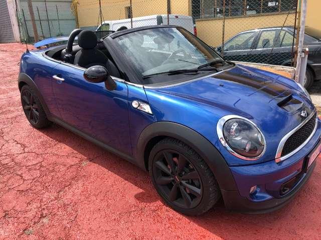mini cooper-s-roadster mini-1-6-cabrio-s-184-cv-bixenon-bellissima blu-azzurro