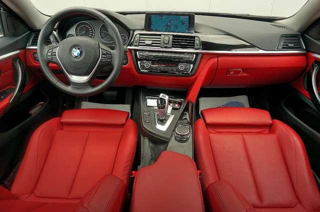 bmw 430 d-xdrive-gran-coupe-rotes-leder-euro-6-hud schwarz