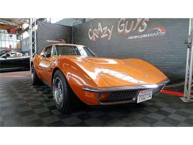 corvette c3 t-top-454-ci orange