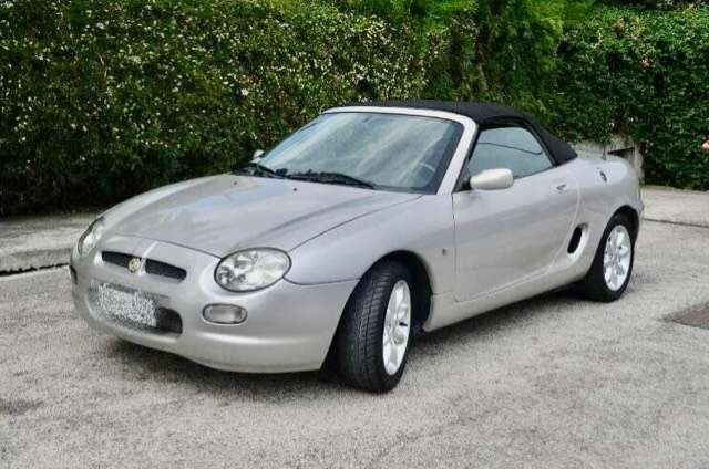 mg mgf exemplaire-unique-hardtop-compris silber