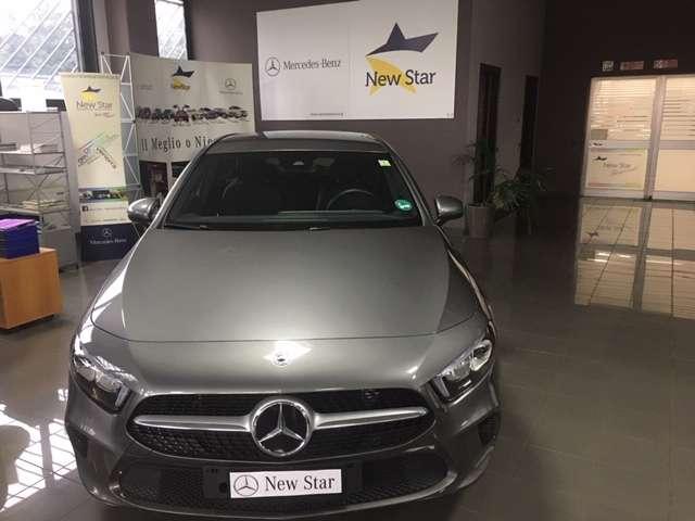 mercedes-benz a-180 d-automatic-progressive grigio
