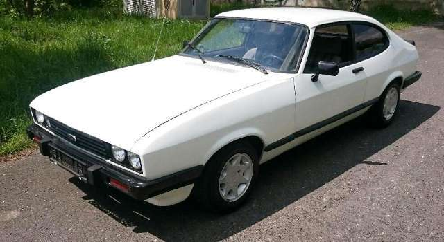 ford capri 1600 weiss