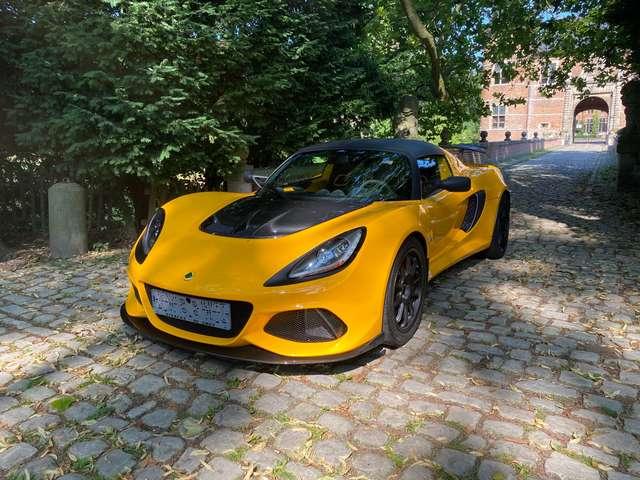 lotus exige 3-5i-v6-410 yellow