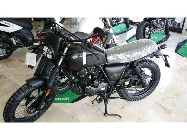 brixton bx-125 x-scrambler nero
