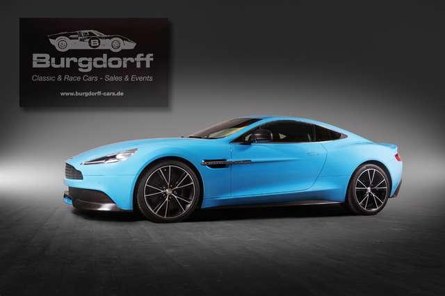 Aston Martin Vanquish Coupé In Blau Als Gebrauchtwagen In Wremen Für 120 408