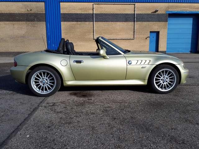 bmw z3 1-9i-roadster-2004-goud-airco-1e-lak-2e-eig-nap goud