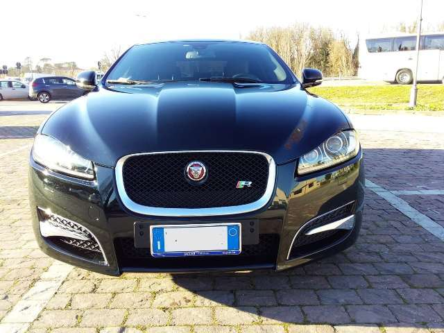jaguar xf 2-2-d-200-cv-r-sport-launch-edition nero