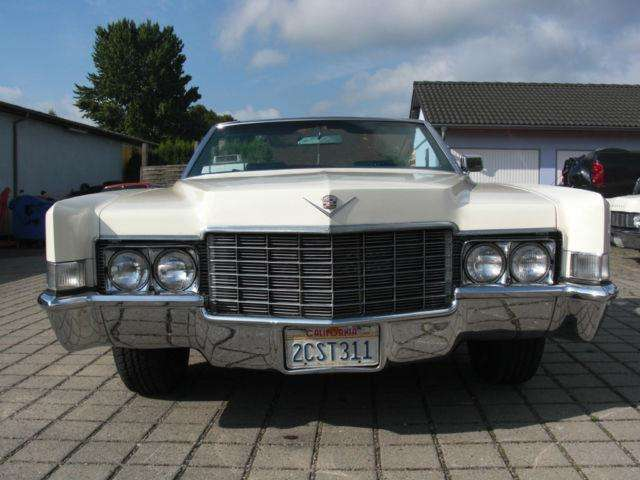 cadillac deville convertible weiss
