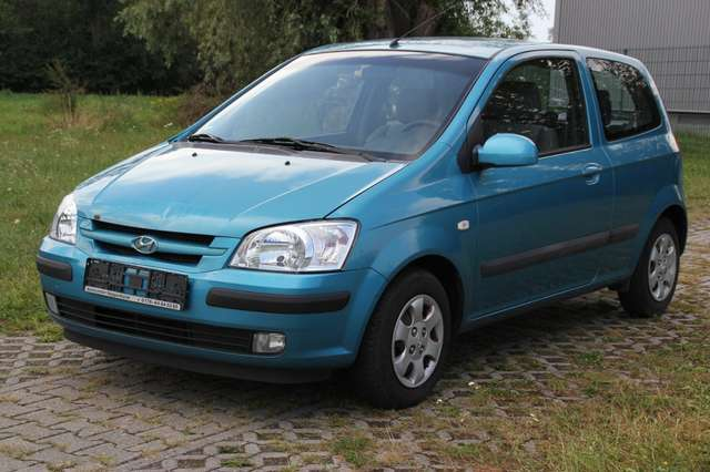 hyundai getz 1-1-benziner-tuev-08-21-klimaanlage-mp3-radio blau