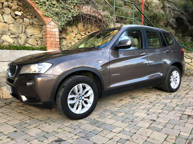 bmw x3 xdrive20d-pack-luxe brun